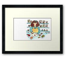 Stamping In Style Framed Print