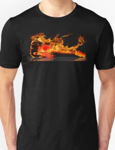 guitar fire Unisex T-Shirt