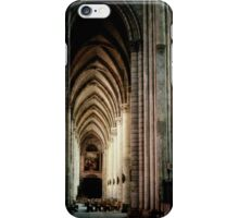 Sth Aisle Cathedral St Etienne Chalons Sur Marne France 198405060055 iPhone Case/Skin
