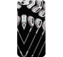 set of golf clubs iPhone Case/Skin