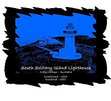 South Solitary Island - 1879 Photographic Print