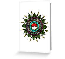 Pokemon Tribal Greeting Card