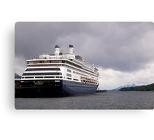 Cruise Liner, Ketchikan, Alaska. Canvas Print