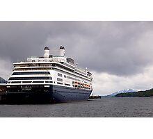 Cruise Liner, Ketchikan, Alaska. Photographic Print