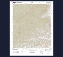 USGS TOPO Map Arizona AZ Portal Peak 20120508 TM One Piece - Short Sleeve
