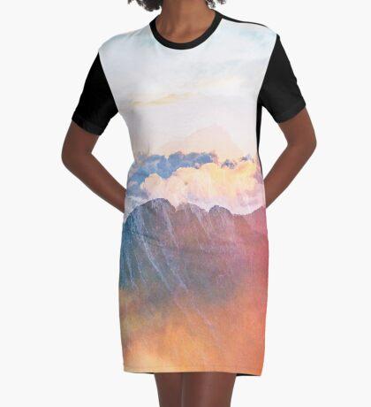 Mountain Glory #redbubble #lifestyle #tech Graphic T-Shirt Dress
