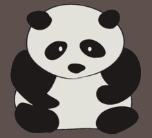 Chubby Panda One Piece - Short Sleeve