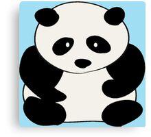 Chubby Panda Canvas Print