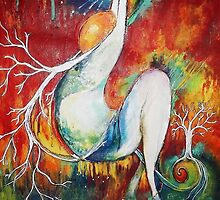 Resilience Tree Detail by Faith Magdalene Austin