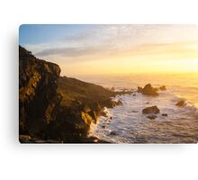 Wedding Rock Sunset Canvas Print