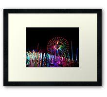 Wonderful World of Color Framed Print