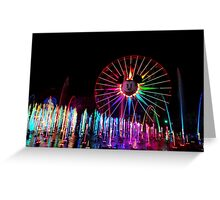 Wonderful World of Color Greeting Card