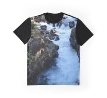 Water Fall Graphic T-Shirt