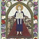 Dorothy Day Icon by David Raber