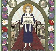 Dorothy Day Icon by David Raber