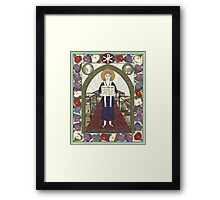 Dorothy Day Icon Framed Print