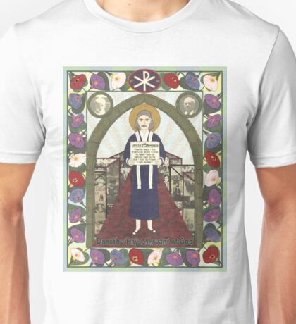 Dorothy Day Icon Unisex T-Shirt