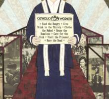 Dorothy Day Icon Sticker