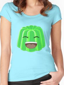 Green Jelly Youtuber vlog Women's Fitted Scoop T-Shirt