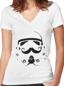 Classy Stormtrooper Women's Fitted V-Neck T-Shirt