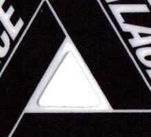 Palace Logo White Sticker