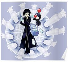 Xion and Moogle Kingdom Hearts 358/2 days Poster