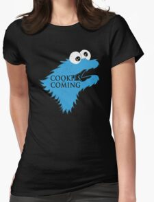 Cookies Are Comming Womens Fitted T-Shirt