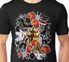 Halloween Spooky Cartoon Saga Unisex T-Shirt