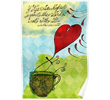 What my #Tea says to me January 18, 2013 Poster