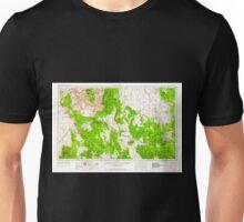 USGS TOPO Map Arizona AZ Williams 315625 1956 250000 Unisex T-Shirt
