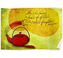 What my #Tea says to me January 23, 2013 Poster
