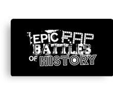 Epic Rap Battles of History (ERB) Canvas Print