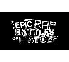 Epic Rap Battles of History (ERB) Photographic Print