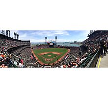 AT&T Park SF Giants Panorama Photographic Print