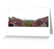 Cincinnati Reds Great American Ballpark Greeting Card