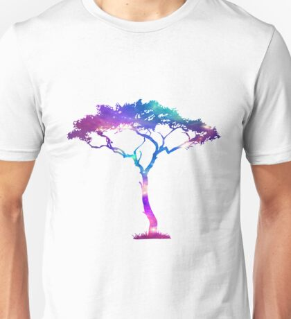 Galaxy tree Unisex T-Shirt