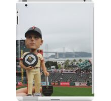 Buster Posey MVP at AT&T Park iPad Case/Skin