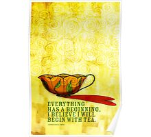 What my #Tea says to me January 1, 2013 Poster