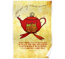 What my #Tea says to me January 10, 2013 Poster