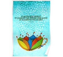 What my #Tea says to me January 16, 2013 Poster