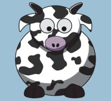 Cartoon Cow by mdkgraphics
