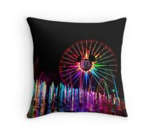 Wonderful World of Color Throw Pillow