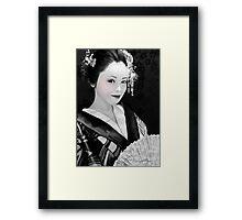 Blossom Geisha  Framed Print