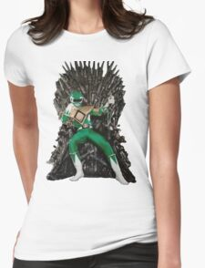 Green of Throwns Womens Fitted T-Shirt