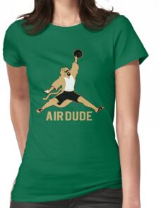 Air Dude Big Lebowski Womens Fitted T-Shirt