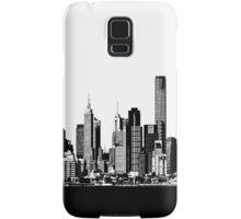 melbourne skyline Samsung Galaxy Case/Skin
