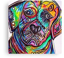 Lovable LAB Canvas Print