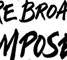 Future Broadway Composer  Sticker