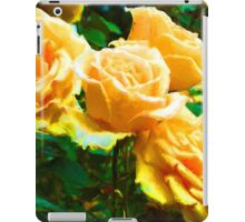 My Surreal Apricot Roses iPad Case/Skin