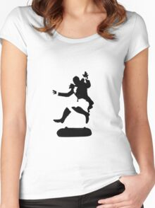 Kickflipping Lafayette Women's Fitted Scoop T-Shirt
